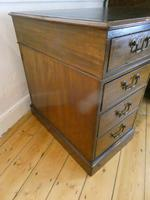 Neat 18th Century Partners Desk (5 of 15)