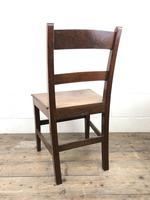 Antique Welsh Oak Farmhouse Chair (2 of 8)