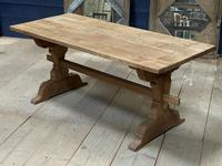 Smaller French Farmhouse Bleached Oak Dining Table (3 of 17)