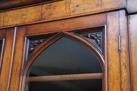Early 19th Century Pollard Oak Bookcase (4 of 13)