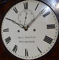 Henry Pottle of Winchester Slim Longcase Clock (2 of 7)