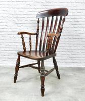19th Century Lincolnshire Windsor Lathback Armchair (2 of 10)