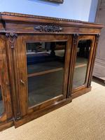 Rosewood Breakfront Bookcase (9 of 15)