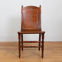 Pair Attractive Victorian Pierced Bentwood Side Chairs (5 of 14)