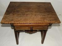 Spanish Pine Low Side Table (2 of 6)