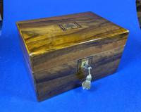 Victorian Olive Wood Jewellery Box (8 of 10)
