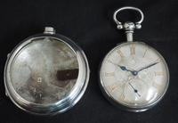 Antique Silver Pair Case Pocket Watch Fusee Lever Escapement Key Wind Silver Huntly & Losstemouth – A SimpsonAntique Silver Pair Case Pocket Watch Fusee Lever Escapement Key Wind Silver Huntly & Losstemouth – A Simpson (4 of 11)
