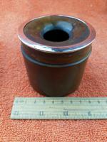 Antique Sterling Silver Hallmarked Hair Tidy Pot Bakelite (3 of 10)