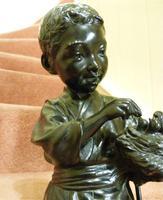 Large Interesting Japanese Meiji Period Bronze (2 of 4)