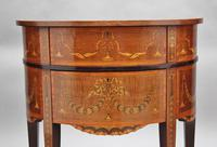 19th Century Mahogany Inlaid Side Table (7 of 11)
