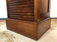 French Tambour Fronted Cherrywood Filing Cabinet with Haberdashery Style Trays (6 of 12)