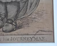 Original 18th Century Print by Robert Dighton, A Master Parson and His Journeyman, 1812 (5 of 9)