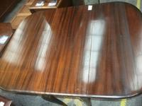 Gate Leg Mahogany Dining Table (2 of 3)