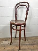 Small Red Bentwood Chair (4 of 8)