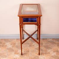 Fine Quality Edwardian Inlaid Mahogany Bijouterie Display Table (13 of 18)