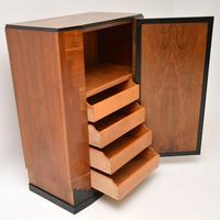 Art Deco Figured Walnut Compactum Wardrobe (2 of 11)