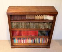 Oak Open Bookcase c.1920 (9 of 12)