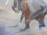 Pair of Victorian Watercolours The Hussars Artist George Clark (8 of 10)