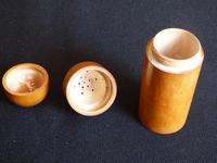 Boxwood talcum holder or pounce pot (5 of 10)