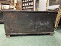 A rare 16th Century solid Oak Gothic Coffer (4 of 7)