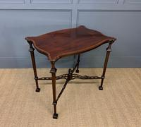 Chippendale Style Mahogany Occasional Table (5 of 10)