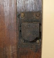 Antique Country Oak panelled Corner Cupboard. Circa 1800 (5 of 12)