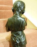 Large Interesting Japanese Meiji Period Bronze (3 of 4)