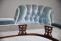Victorian Upholstered Button Back Chaise Longue (3 of 11)