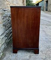 Antique Mahogany Chest of Drawers on Bracket Feet (5 of 12)