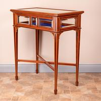 Fine Quality Edwardian Inlaid Mahogany Bijouterie Display Table (10 of 18)
