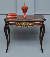 French Louis XV Mahogany Side Table / Hall Table (2 of 16)