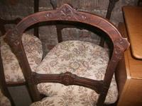 Set of 4 Carved Dining Chairs (2 of 3)