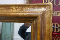 19th Century Large French Shabby Gilt Mirror (7 of 8)