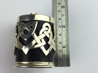 """Solid Silver """"Hallmarked"""" Celtic  Lidded Pot Very Unusual Available Worldwide (5 of 10)"""