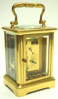 Fine Antique French 8-day Carriage Clock Timepiece - Interesting & Rare Size c.1870 (6 of 13)