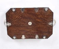 19th Century Country House Oak Serving Tray (8 of 9)