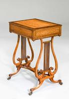 Late 18th Century Satinwood Work Table (3 of 4)