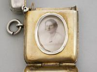 Victorian Silver Vesta Case with Hidden Photo Compartment.  By John Millward Banks, Chester, 1898 (4 of 13)