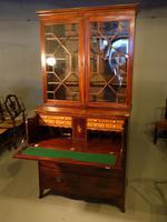 Good George III Period Mahogany Secretaire Bookcase (3 of 7)
