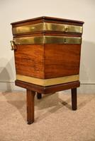 George III Octagonal Wine Cooler on Stand (5 of 6)