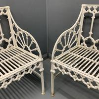 Vintage Garden Chairs & Benches (2 of 10)