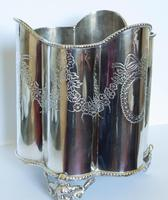 Edwardian Silver Plated Wine / Champagne Bucket (2 of 6)