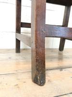 Four Similar 19th Century Welsh Oak Bar Back Farmhouse Chairs (7 of 9)