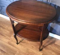 Edwardian Mahogany Occasional Table (6 of 6)