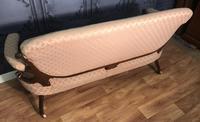 Victorian Burr Walnut & Inlaid Salon Suite (3 of 38)