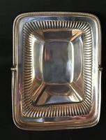 Georgian Silver Plate Swing Handle Cake / Bread Basket (4 of 4)
