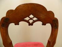 set of 8 mahogany dining chairs (6 of 7)