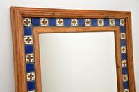 Large Mexican Tiled Mirror Vintage 1950's (3 of 10)