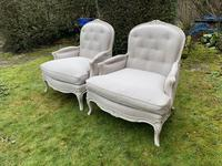 Pair of Very Large Bergere Armchairs (5 of 8)