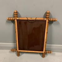 Small French faux bamboo mirror (2 of 6)